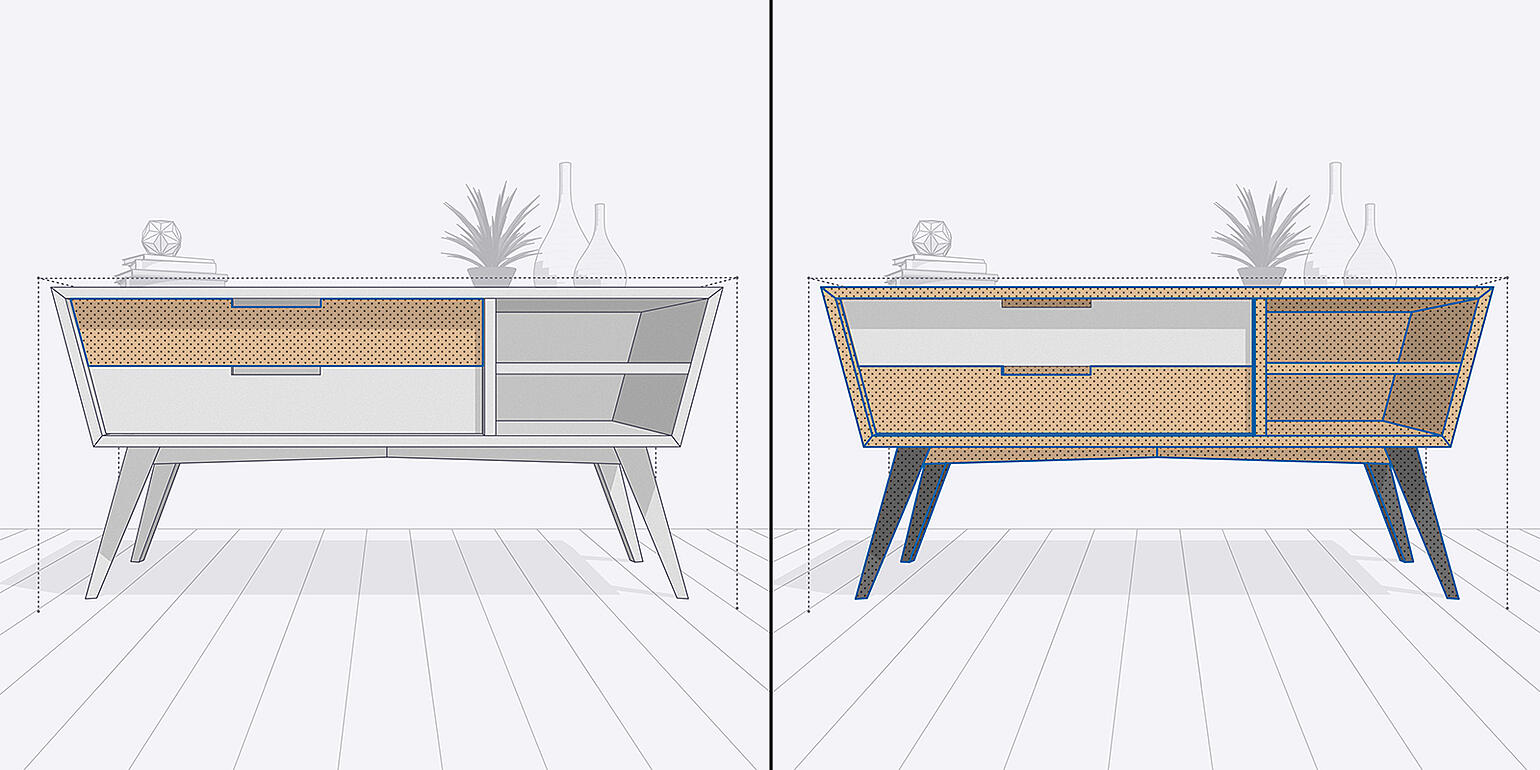 Invert Selection in SketchUp