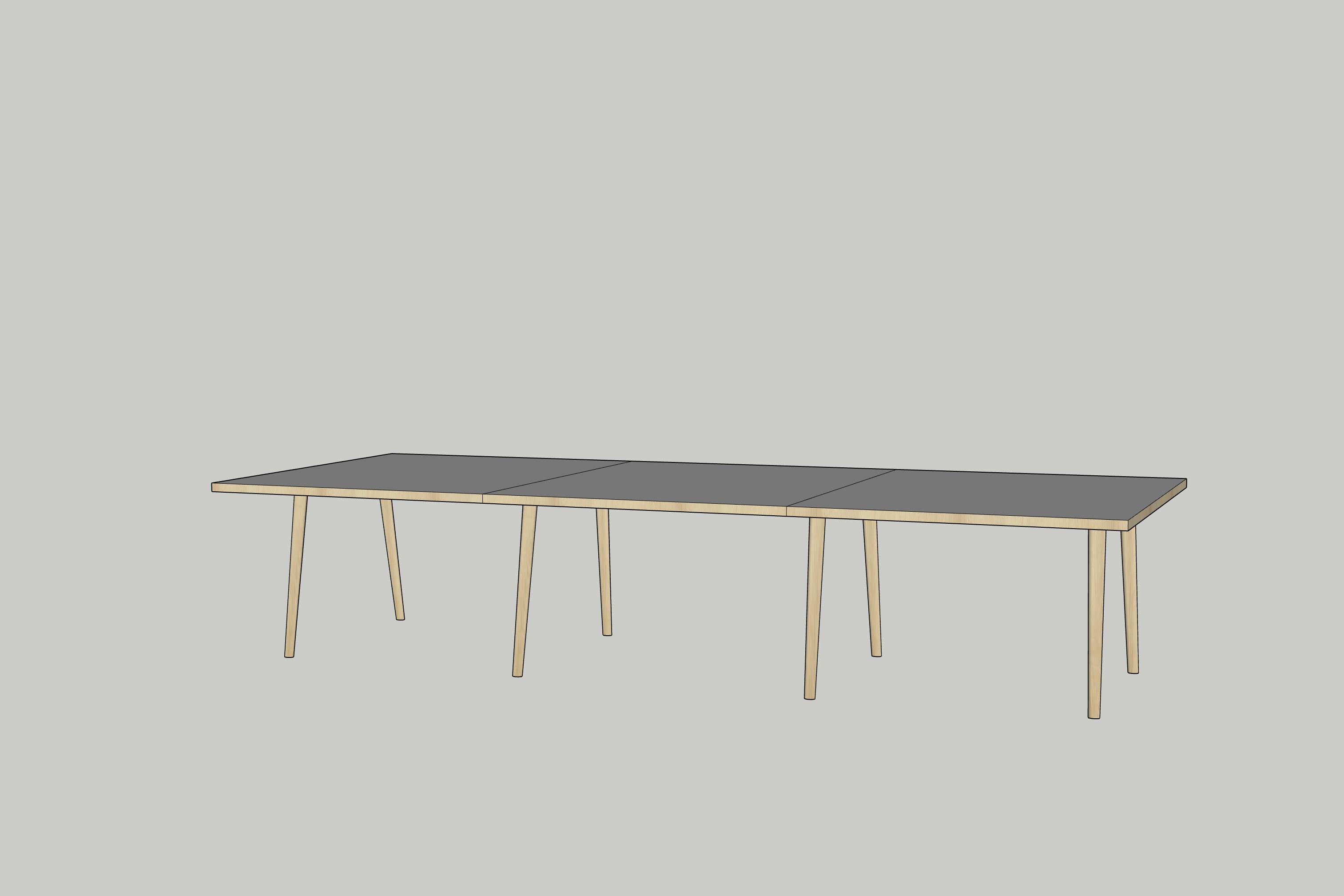 SketchUp table model