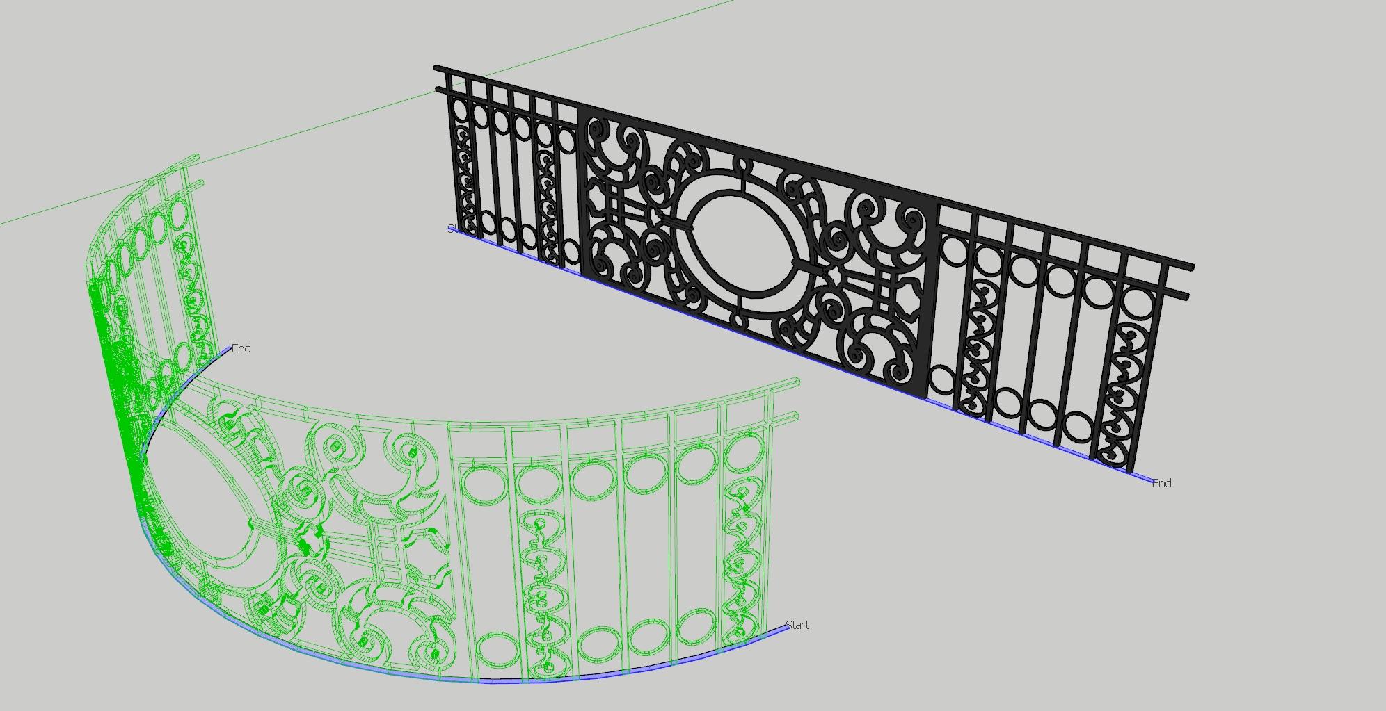 Shape Bender Extension for SketchUp