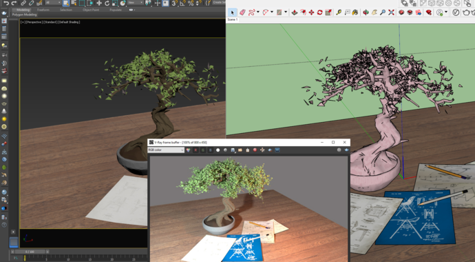 V-Ray for SketchUp interface overview