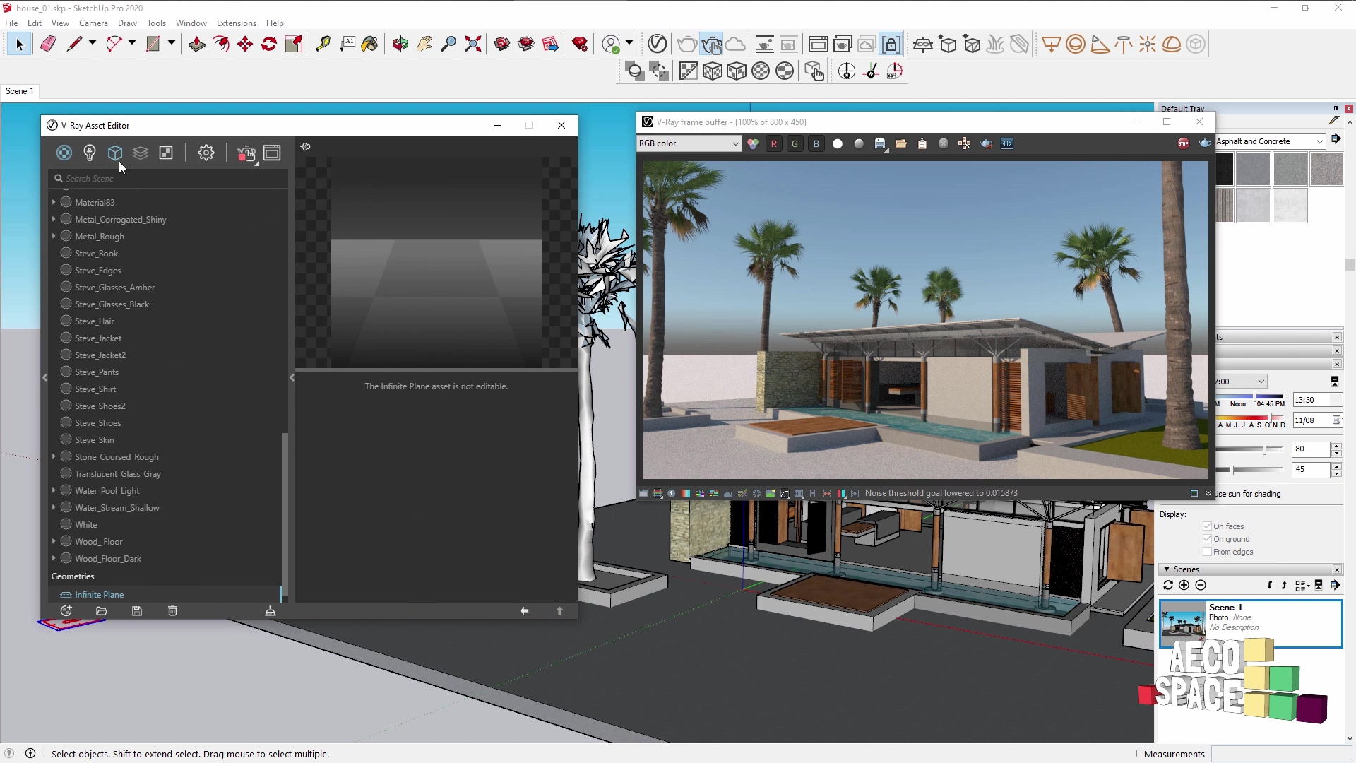 video 13 - construction - Super fast rendering in V-Ray for SketchUp-thumb